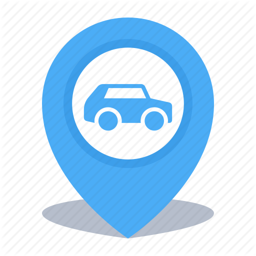 Gps, Location, Map Pin, Pin, Rent A Car Icon