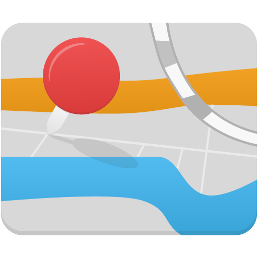 Map Icon Flatastic Iconset Custom Icon Design