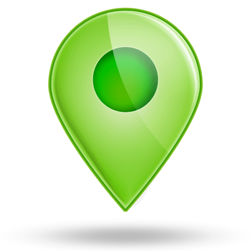 Green Map Marker Icon