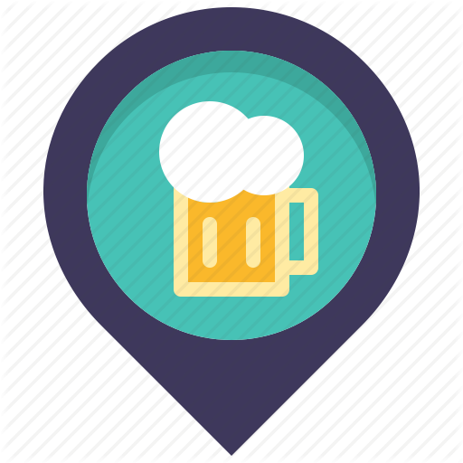 Bar, Beer, Drink, Location, Map, Pin, Place Icon