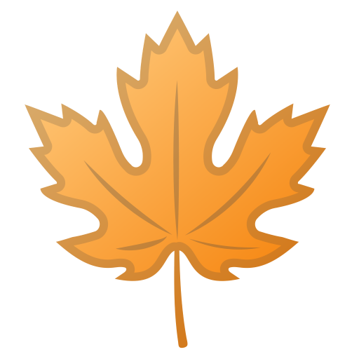 Maple Leaf Icon Noto Emoji Animals Nature Iconset Google