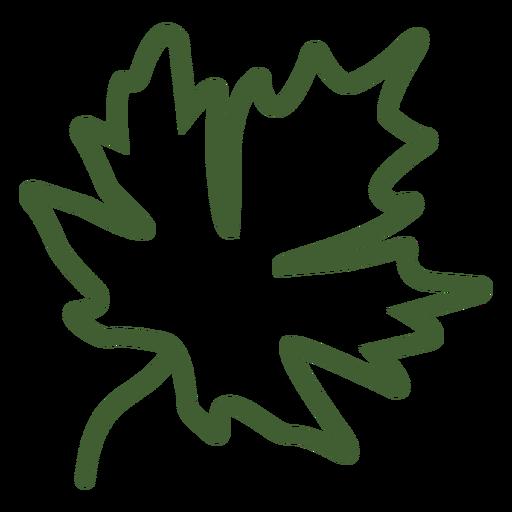 Maple Leaf Autumn Icon