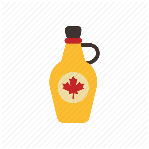 Beverage, Bottle, Canada, Food, Leave, Maple, Syrup Icon