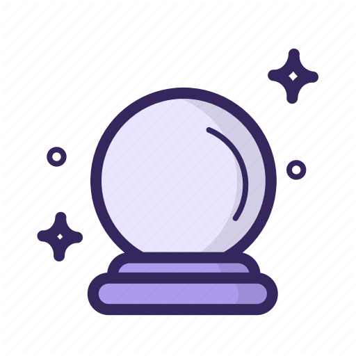 Appear, Ball, Fortune, Glass, Magic, Marble, Teller Icon