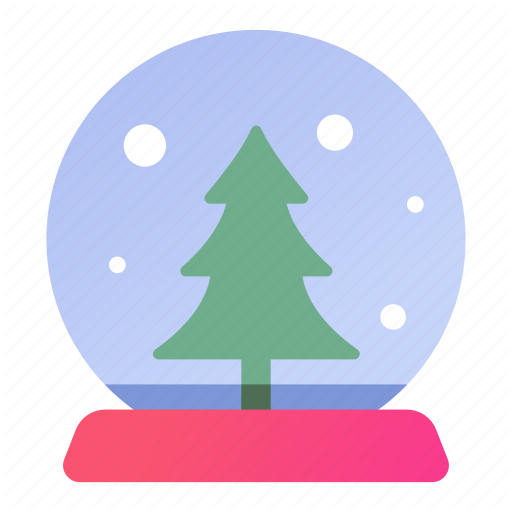 Christmas, Crystal, Gift, Marble, Present, Snow, Tree Icon
