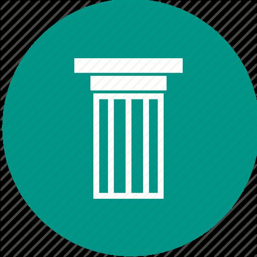 Column, Columns, Court, Courthouse, Marble, Pillar, Pillars Icon