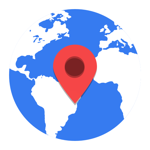 Marble, Map Marker, World, Location Icon Free Of Super Flat Remix