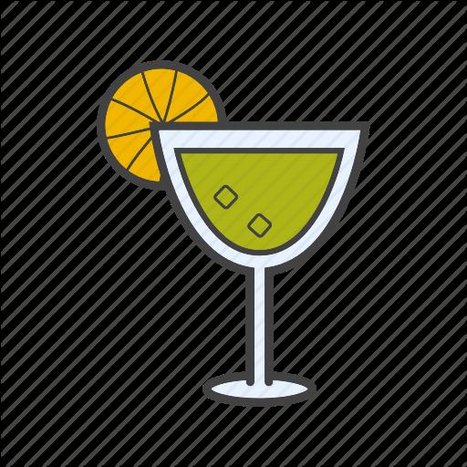 Alcohol, Aperitif, Cocktail, Drink, Margarita Icon
