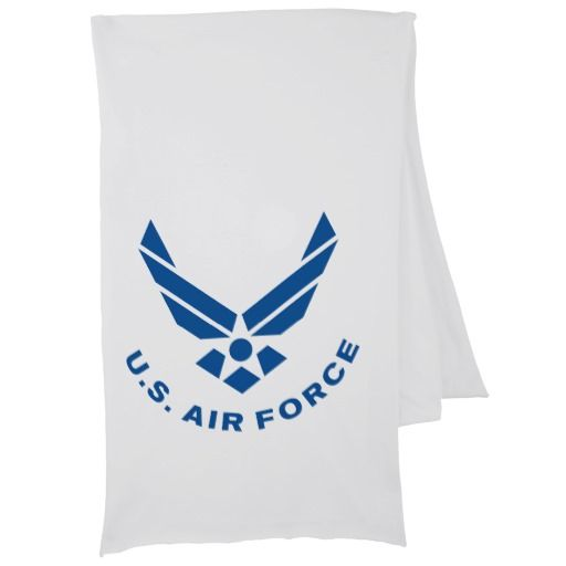 Air Force Symbol Scarf Military Patriotic Air Force Symbol