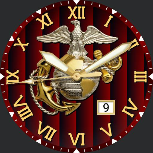 Marine Corps Face For Huawei Watch