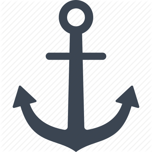 Anchor, Link Text, Marine Icon