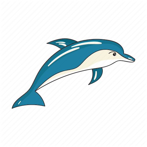 Animal, Dolphin, Mammal, Marine Icon