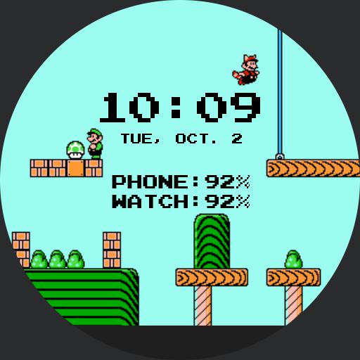 Super Mario Bros For Fossil Q
