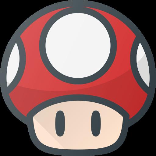 Video, Game, Play, Toad, Mushroom, Mario Icon Free Of Free Set