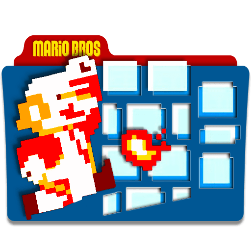 Super Mario Desktop Icons