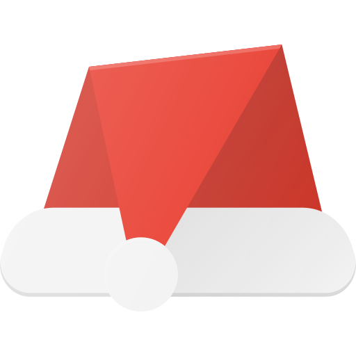 Santa, Hat, Christmas Icon Free Of Christmas Flat