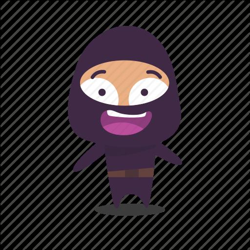 Happy, Ninja Icon