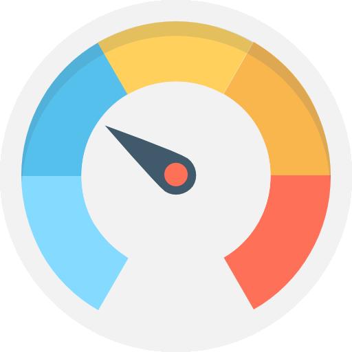 Speedometer Icon Transport Vectors Market