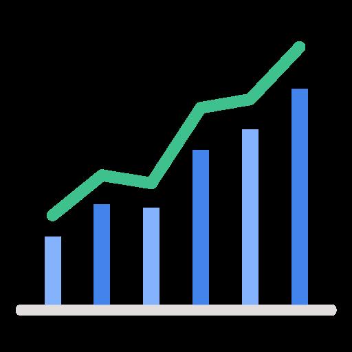 Chart, Business, Report, Piechart, Market Share Icon