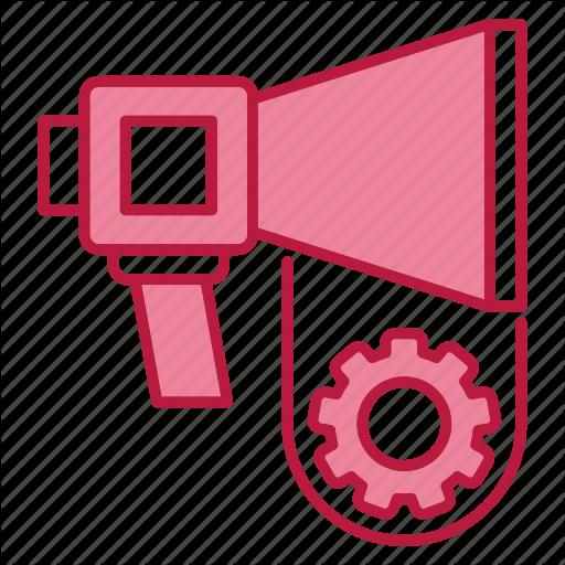 Automation, Marketing, Promotion, Speaker Icon