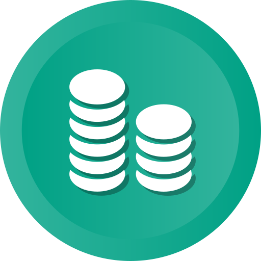 Business, Coins, Finance, Banking, Bank, Marketing Icon Free