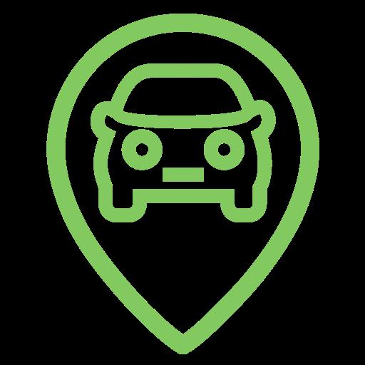 Presence Vehicle, Online Presence, Search Engine Marketing Icon