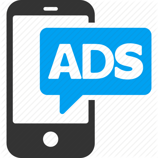 Advertising, Marketing, Mobile Ads, Promotion, Smartphone Icon