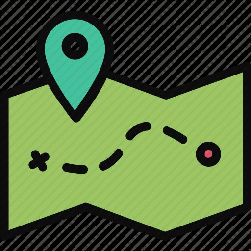 Adventure, Journey, Location, Map Icon