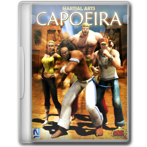 Martial Arts Capoeira Icon