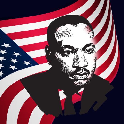 Martin Luther King Day Sticker