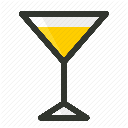 Alcohol, Beverage, Cocktail, Glass, Martini Icon