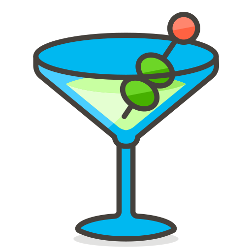 Cocktail, Glass Icon Free Of Free Vector Emoji