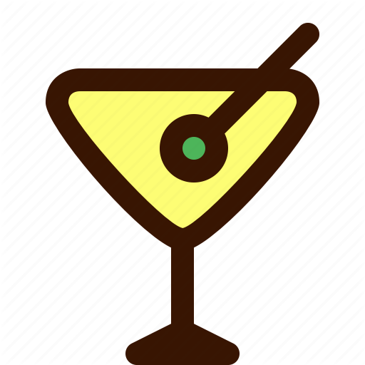 Beverage, Christmas, Cocktail, Drink, Martini Icon