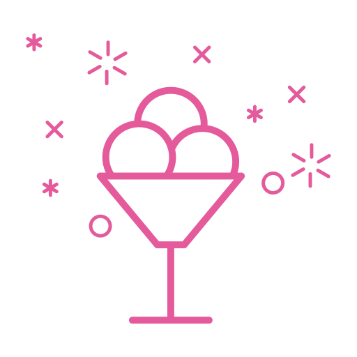 Cocktail, Monochrome, Linear Icon With Png And Vector Format