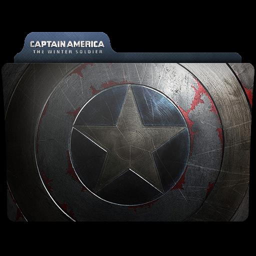 Captain America Winter Soldier Folder Icon Captain America