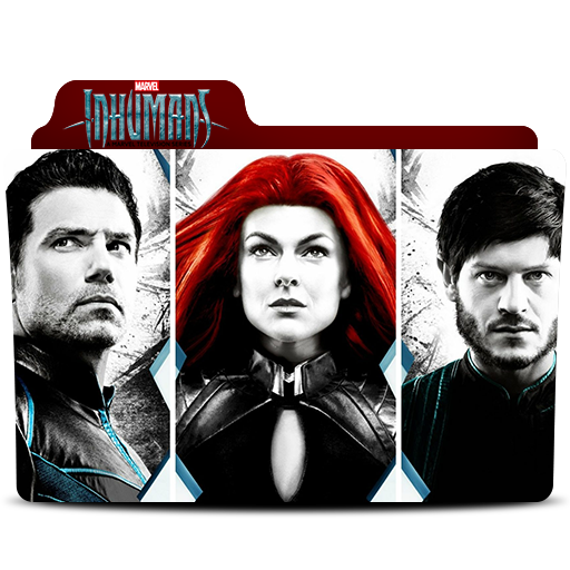 Marvel Inhumans Folder Icon