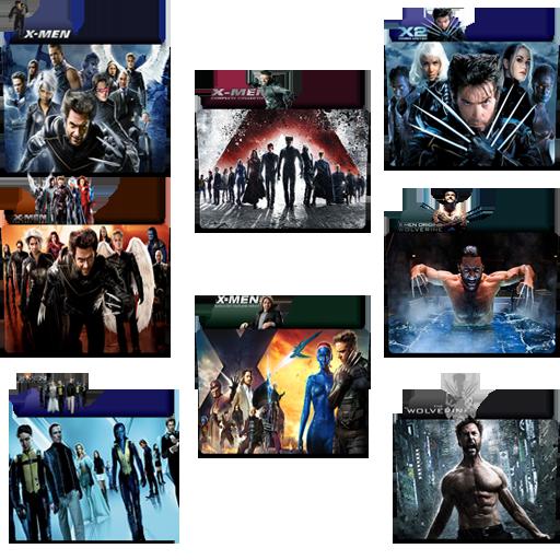Marvel Shows Folder Icon Pack
