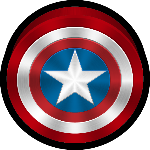 Ios, Marvel, Captain America, Coc Icon