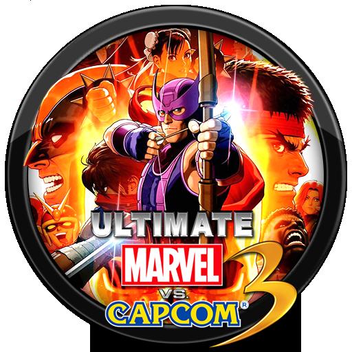 Ultimate Marvel Vs Capcom Logo Transparent Png Clipart Free