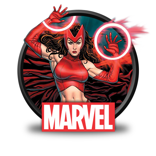 Scarlet Witch Clipart Vintage