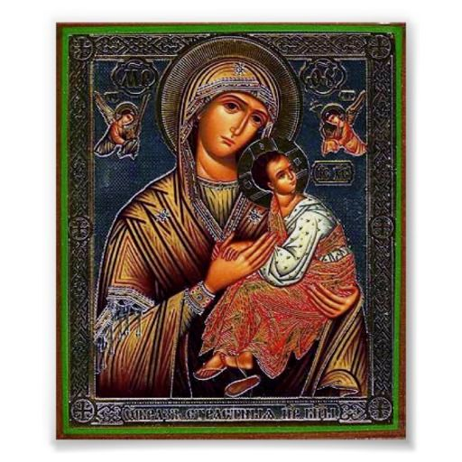 Mother Of Perpetual Help Poster Madonna Images Virgin Mary
