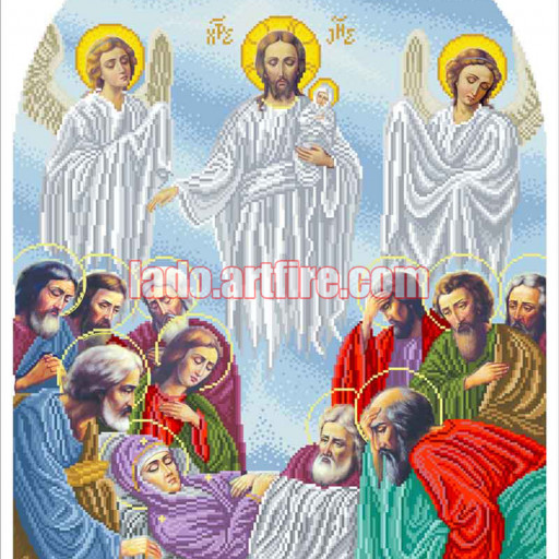 Assumption Of The Blessed Virgin Mary Diy Bead Embroidery Kit Icon