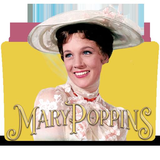 Mary Poppins Folder Icon