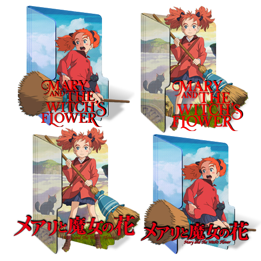 Mary To Majo No Hanamary And The Witch's Flower Animeicons
