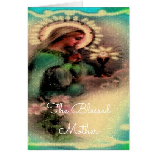 Blessed Mother Design