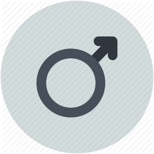 Gender, Male Sexuality Sign, Male Sign, Male Symbol, Masculine Icon