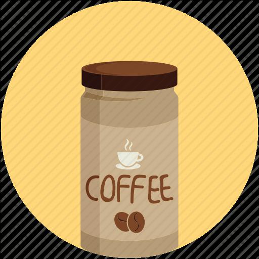 Coffee, Coffee Jar, Instant Coffee, Jar Icon