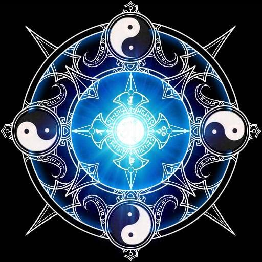 Magic Spell Circle Spellssymbolsmagical Effectspower