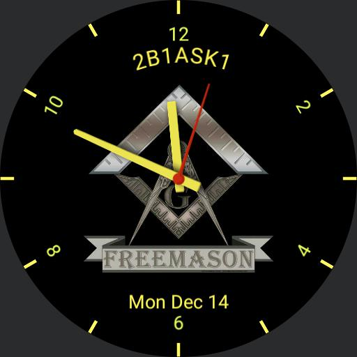 Masonic Free Mason For Watch Urbane