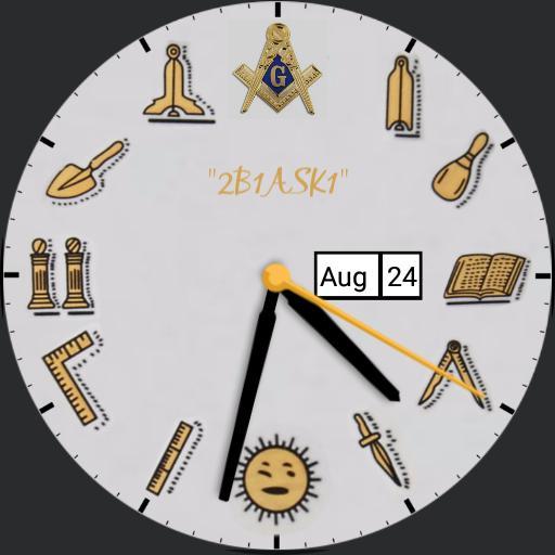 Masonic Face Version For Watch Urbane